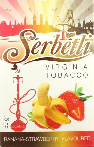 SERBETLI, BANANA STRAWBERRY (БАНАН-КЛУБНИКА)