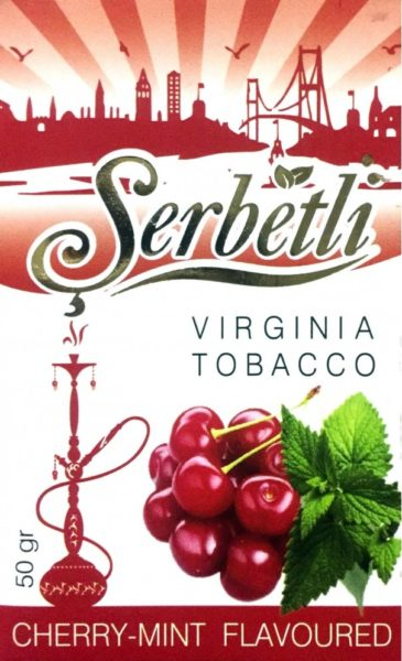 Serbetli, Cherry Mint (Вишня Мята)