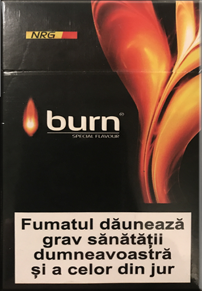 СИГАРЕТЫ BURN KS ORANGE