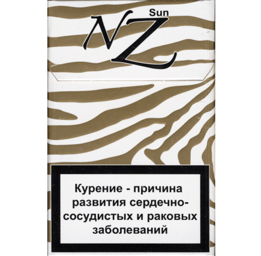 СИГАРЕТЫ NZ SLIMS GOLD SUM